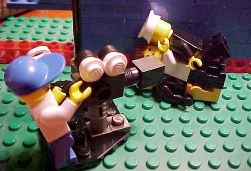 Escena porno en LEGO