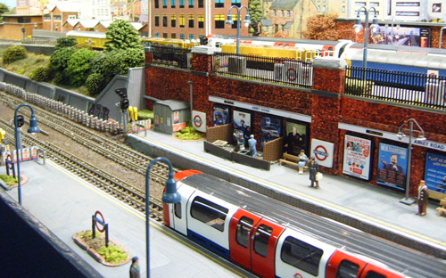 Abbey Road Model Tube Station 1