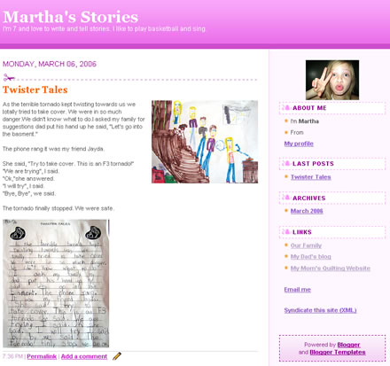 Marthas Blog