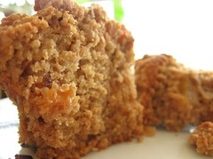 Oat Bran Muffins with Dried Pears