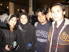 Bersama Kak Maz & Nurul sewaktu PMC Farewell Dinner