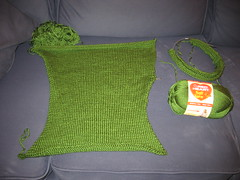 Green Grass Sweater
