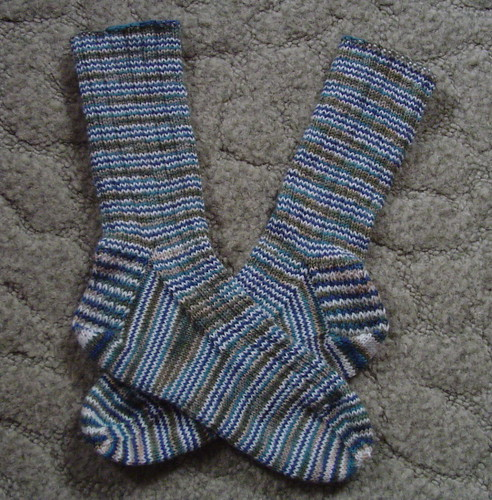 Lorna's Laces socks - March 13, 2006