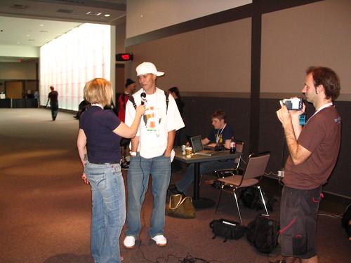 Paul interviewed for GeekTV