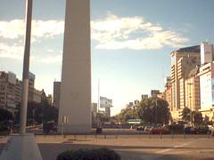 Avenue du 9 juillet, à Buenos Aires