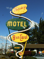 Ben Carol Motel photo by Curtis Gregory Perry