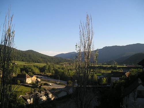 Vista desde Hecho del valle de hecho