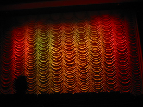 CURTAINS!