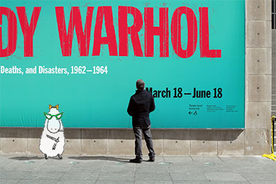 Dolores at the Warhol