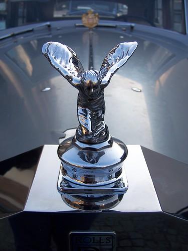 Calandre de Rolls Royce