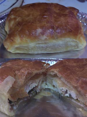 Chicken-Stuffed-Pastry