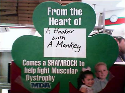 Hooker and Monkey care about Muscular Dystrophy