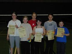 Teilnehmer der Vereinsmeisterschaft