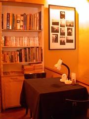 充滿書卷氣的咖啡店