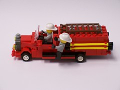 Old-fashioned Fire Truck