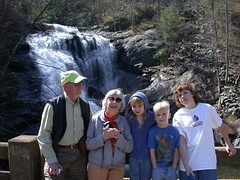 family-bald river