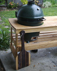 Big Green Egg & Pizza Peel