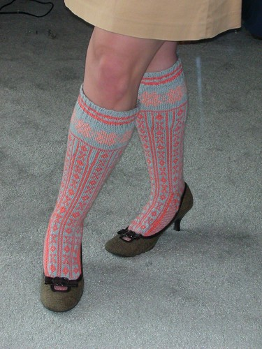 Completed Norwegian Stockings