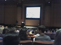 Jorge Cham giving talk!