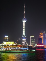 Oriental Pearl Tower - better at night