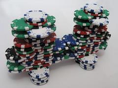 poker chip bridge