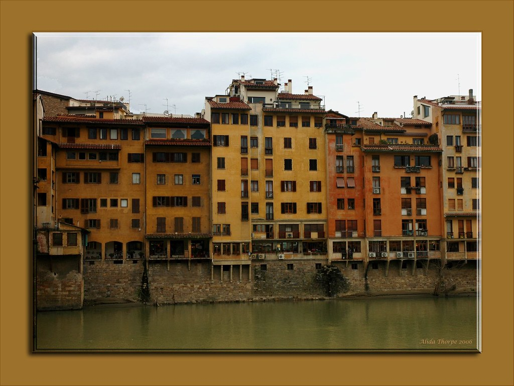 Apartments on the Arno River
