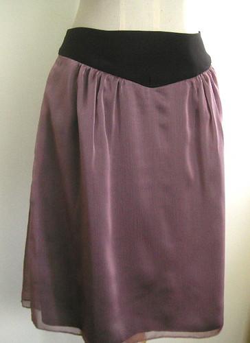 chiffon skirt 2