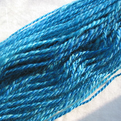 22: Fleece Artist Blue Faced Leicester - plied