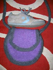 Canteen Bag Felted