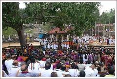 Devotees at Vanabhojan