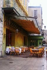 cafe on a terrace