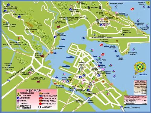 Subic Bay Map