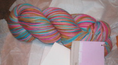 Sock Yarn from the Sweet Shop