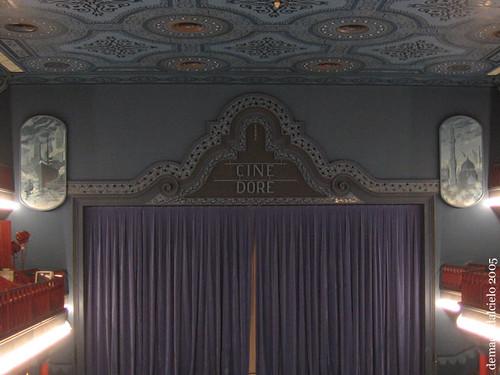 Interior del Cine Doré