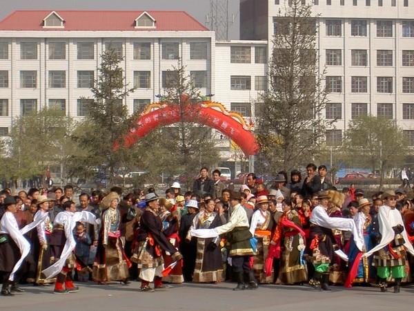 Tibetan Dance at Central Park