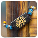 908 - Ox bone bracelet