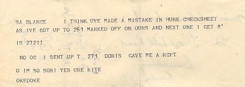 Text Speak Circa 1945(ish)