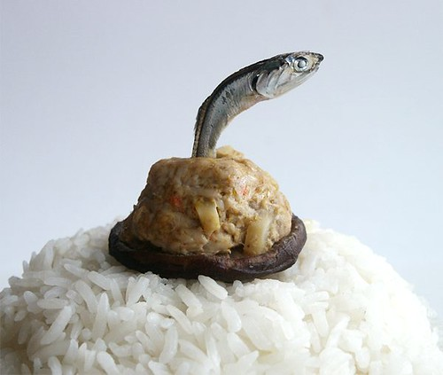 Leaping Siu Mai fish