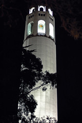 Coit Tower is the finish for the Prologue