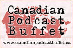 Canadian Podcast Buffet promotional badge
