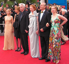 Jim Jarmush ed il cast del film a  Cannes