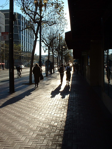 Market St Shadows by Duncan Grant