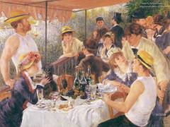 Almuerzo en el partido de Canotaje (1880- 81), de Renoir