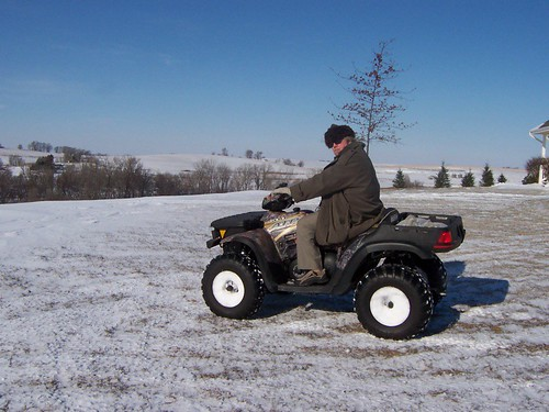 Jay on a 4WD ATV