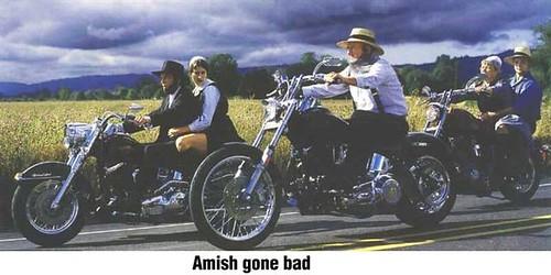 amish bikers