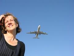A plane to Milan