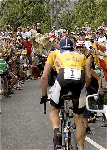 Lance 2004 Tour de France by John Stanford