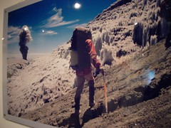 国家地理展览 冰火两重天 冰里的女尸