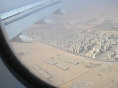 Egypt by plane