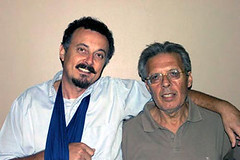Enzo baldoni e Pino Scaccia